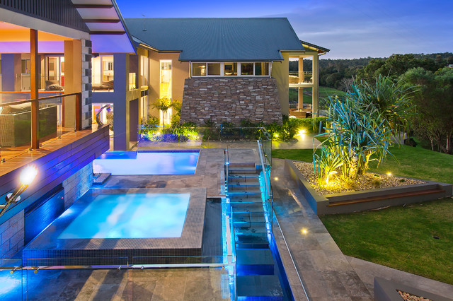 Draper contemporary-hot-tub-and-pool-supplies