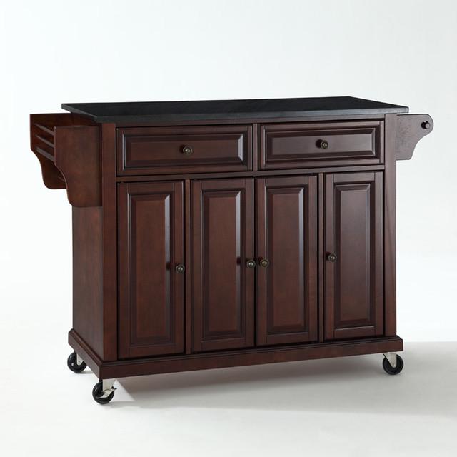 Furniture Solid Black Granite Top Kitchen Cart Island White Portable Walmart Furniture Solid