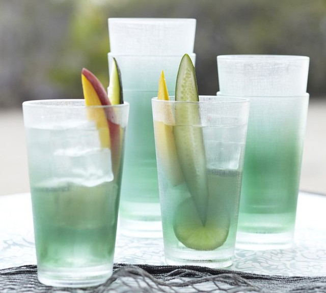 Sea Glass Outdoor Drinkware Contemporary Everyday