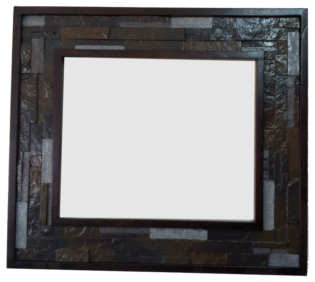 Decorative oak wood frame with faux stone detail 16x20 for 16x20 frame