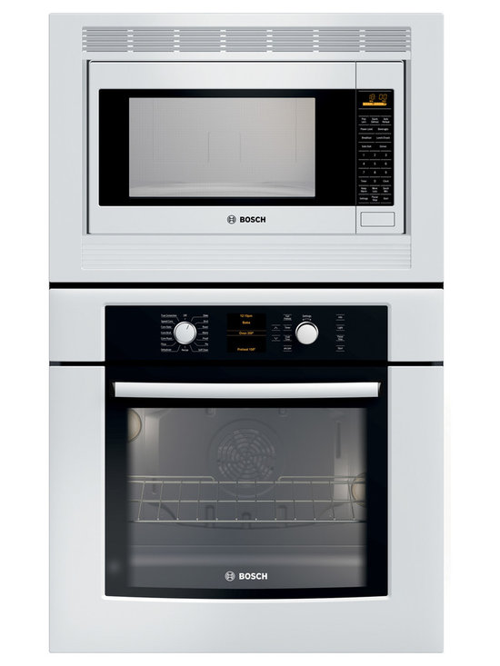 "Bosch 30"" Combination Wall Oven With Convection, White 