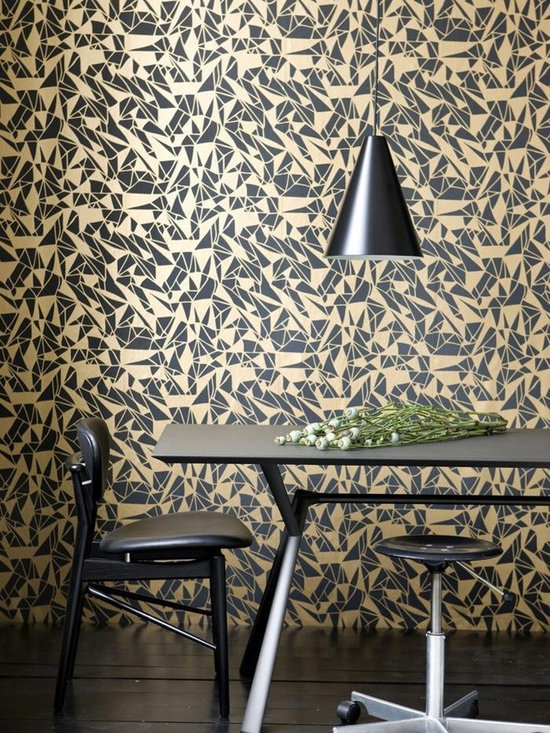 Ferm Living Monroe Wallpaper - Ferm Living's Wallpaper is graphic & whimsical adding character, charm and personality to any room. Wallpaper has a striking effect and will without a doubt turn your room into a sanctuary.
