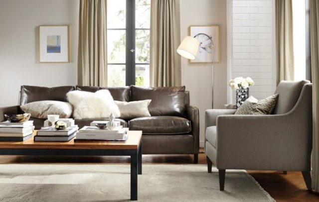 Bram Leather Sofa Room Home Decor By Room Board