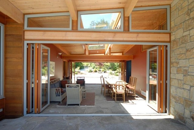 Folding doors contemporary windows and doors