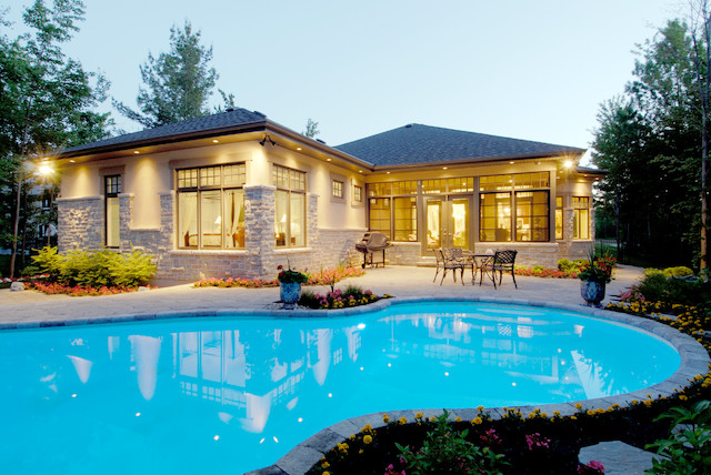 Emerald Links Project contemporary-pool