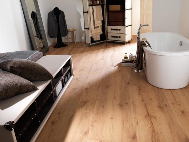 Porcelanosa Laminate Roble Valley Natural - Modern - Laminate ...