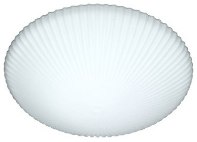 Besa 945007C Opal Matte Katie Flush Mount - 12W in. modern bathroom lighting and vanity lighting