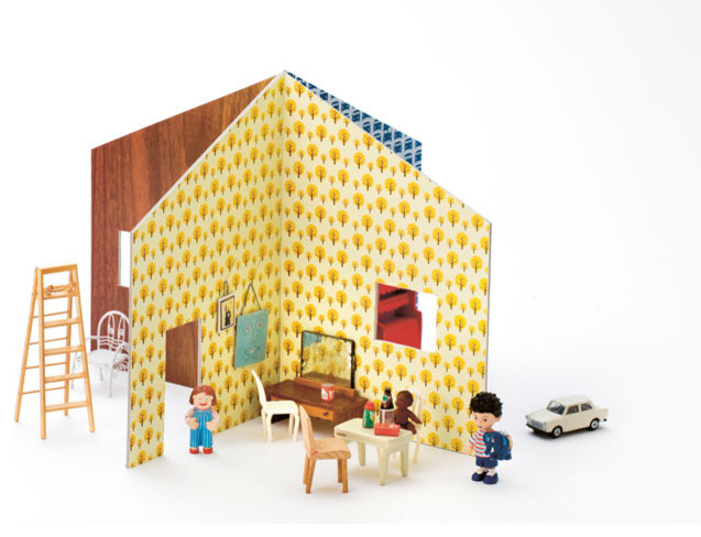 Ferm Living - Dollhouse modern kids toys