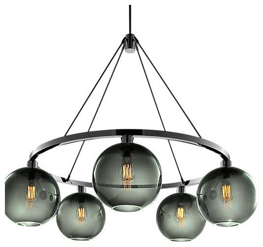 Sola 36 Modern Chandelier modern-chandeliers