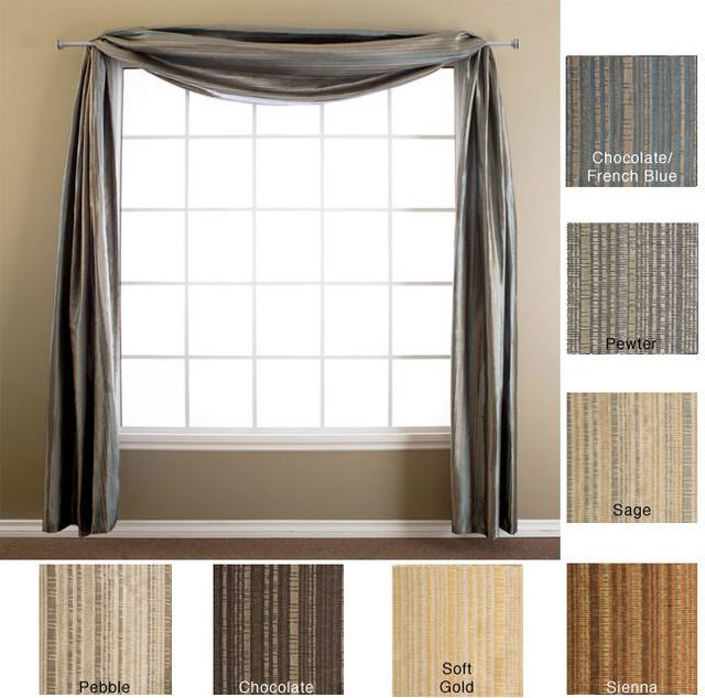 jaipur batik 6 yard window scarf contemporary curtains