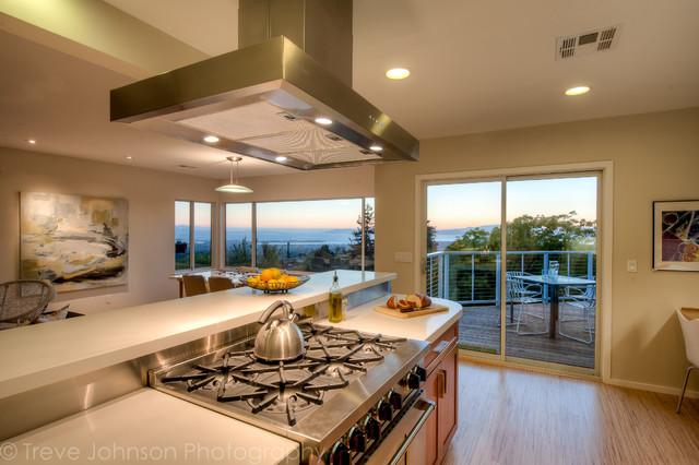 Berkeley Hills Remodel contemporary-kitchen