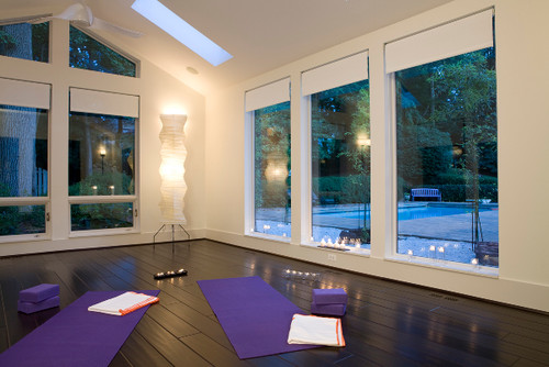 7 yoga rooms that will instantly relax you photos - Home Yoga Room Design