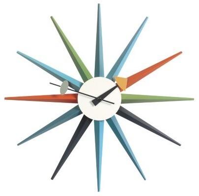 Starburst Clock by George Nelson - Clocks