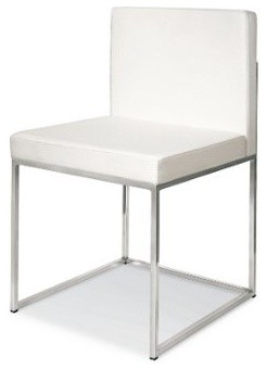 Calligaris Even Leather Side Chair modern-living-room-chairs