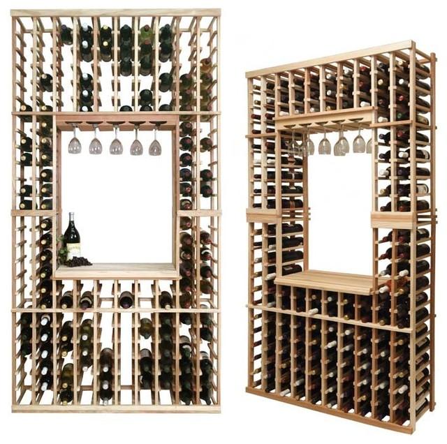 Vintner Series Wine Rack - Individual Bottle Wine Rack Kit traditional-wine-racks