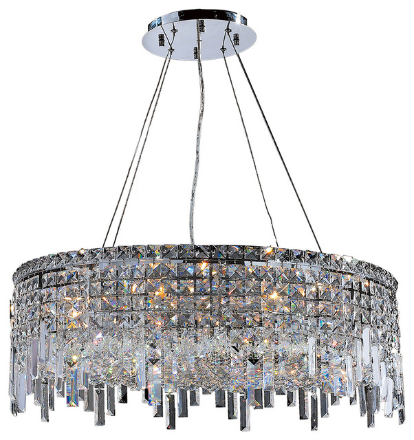 Cascade Crystal Chandelier 12 Light