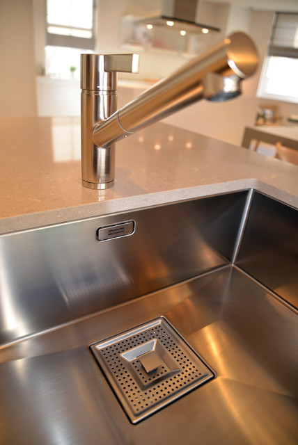 Kitchen Grey Laminate also Breakfast Tables furthermore The Coast Spectacular Modern Villa In Malija 860 likewise Sink Integrated as well Kitchen Island Counters. on bulthaup kitchen reviews