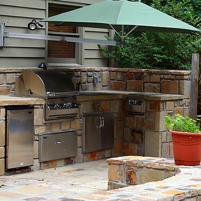 Outdoor kitchens outdoor grills other metro by for Outdoor kitchen ideas houzz