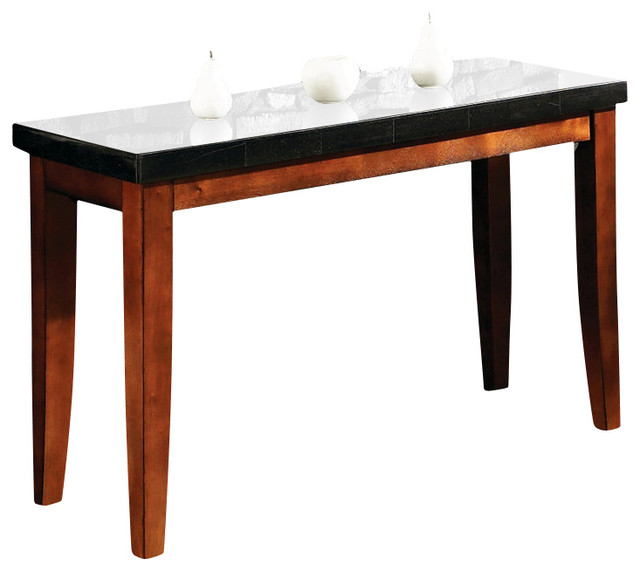 Steve Silver Granite Bello Sofa Table - Traditional - Console Tables - by Beyond Stores