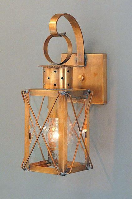 Wall Sconces Lantern : Dock Lantern - Copper Colonial Period Wall Lanterns - Traditional - Wall Sconces - philadelphia ...