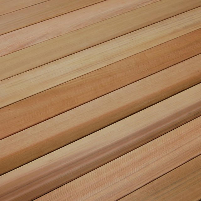 Western red cedar decking contemporary wood flooring for Cedar flooring