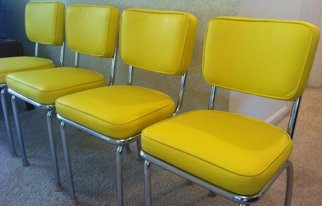 50 39 s retro dining chairs reupholstered midcentury furniture