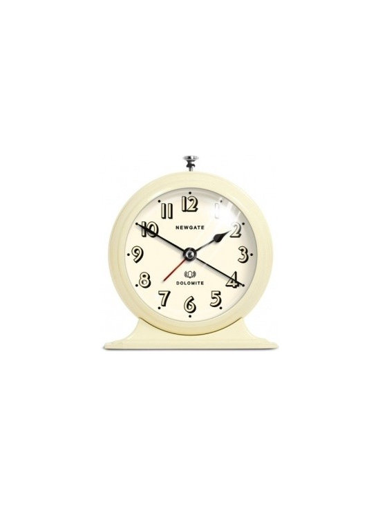 newgate - Dolomite Alarm Clock - Barn Light Electric - Sshh! This gorgeous retro inspired alarm clock has a silent sweep movement so you can enjoy uninterrupted sleep... until the alarm goes off of course! But, you can grab yourself a few more minutes with the snooze button. Ahh, bliss!