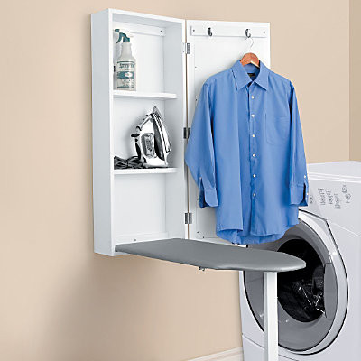 Wall Mount Ironing Board Cabinet contemporary-ironing-boards