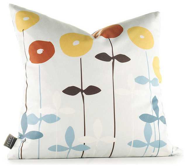Modern Graphic Pillow : Graphic Pillow, Scribble - Modern - Decorative Pillows - by Pop Deluxe