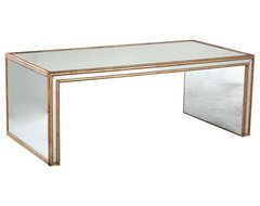 Antiqued Art Deco Coffee Table traditional-coffee-tables