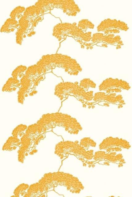 Japanese Tree Fabric asian-fabric