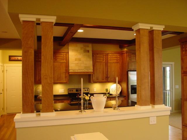 Craftsman rambler 46390 craftsman kitchen for Rambler kitchen remodel ideas
