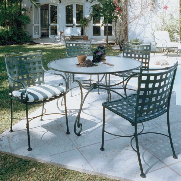 Sheffield Glass Top Outdoor Dining Table Outdoor Tables