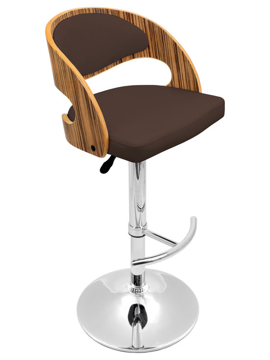 Pino Bar Stool - ZEBRA/BROWN