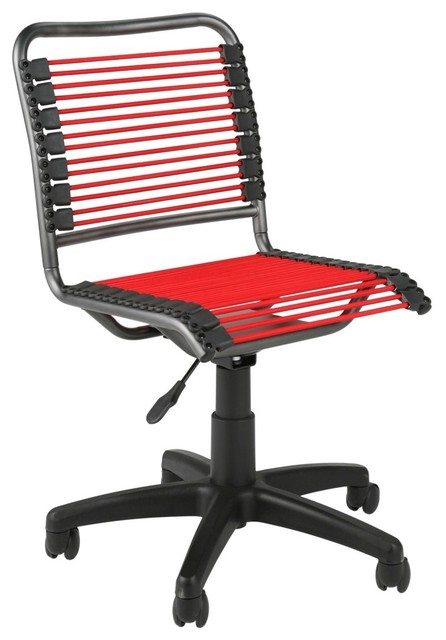 Charleville Office Chair Red/Graphite modern-task-chairs