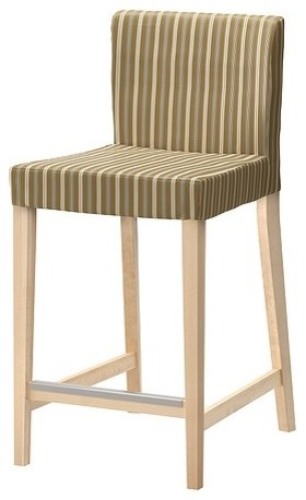 HENRIKSDAL Bar stool with backrest modern-bar-stools-and-counter-stools