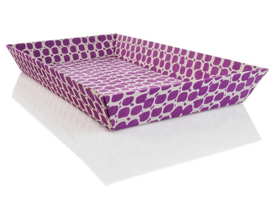 Nate Berkus Batik Fabric Tray -