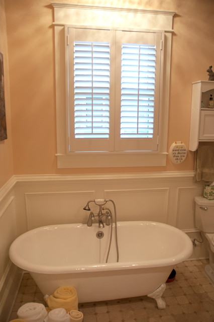 Historic Home Addition with Period Correct Bathroom traditional-bathroom