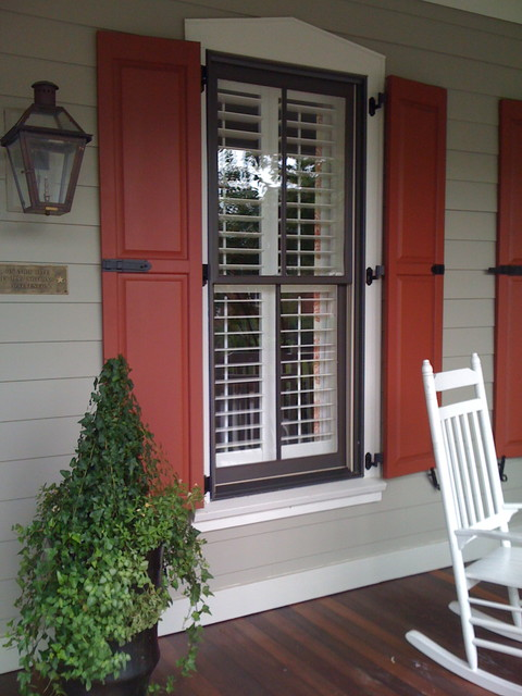 Charleston shutters.  This home is located on Daniel Island south carolina traditional