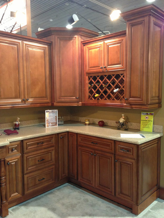 Chestnut Pillow Kitchen Cabinets | Kitchen Cabinet Kings -