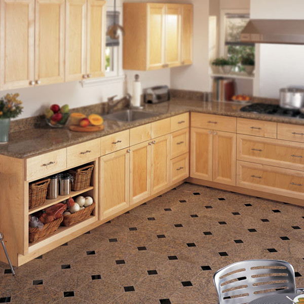 Kitchen Granite Counter u0026 Floor - Kitchen Countertops - charlotte - by Dal-Tile