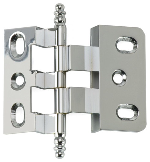 3-8-OFFSET-PC polished chrome offset cabinet hinge - Traditional - Hinges - philadelphia - by ...