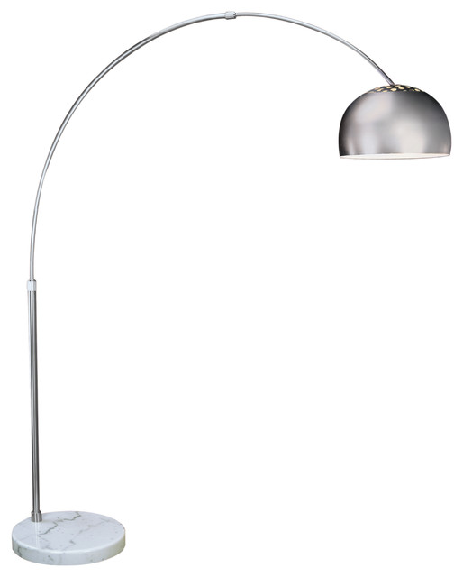 Big Arc Floor Lamp Modern Floor Lamps Austin By