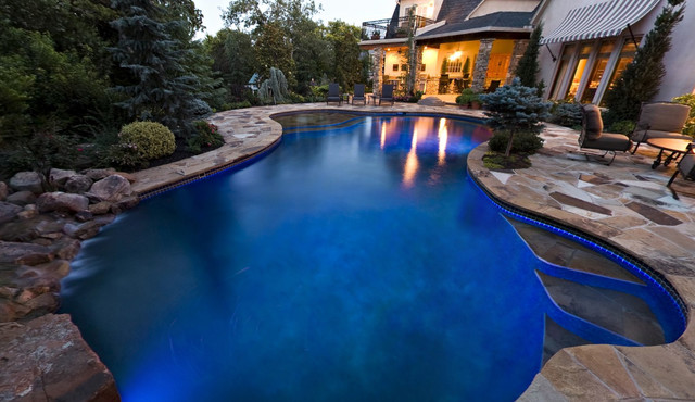 Stone Mill Project contemporary-pool