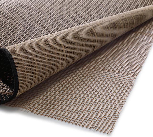 Non-Slip Outdoor Rug & Mat Pad - 2' x 4' traditional-doormats