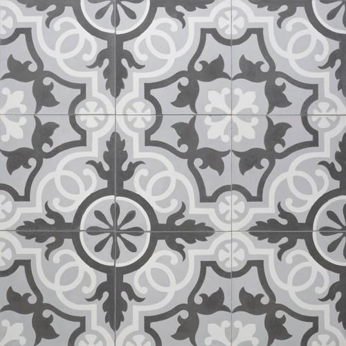 Sabine Hill Cement Encaustic Tile More Info