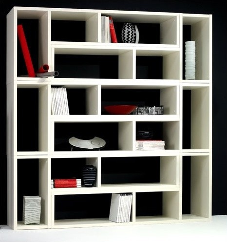 """Domino 27"""" H Six Piece Shelving Unit - Modern - Bookcases - by AllModern"""