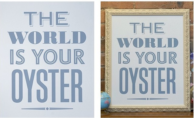 Your Oyster - Blue | Prints | Keep Calm Gallery eclectic-artwork