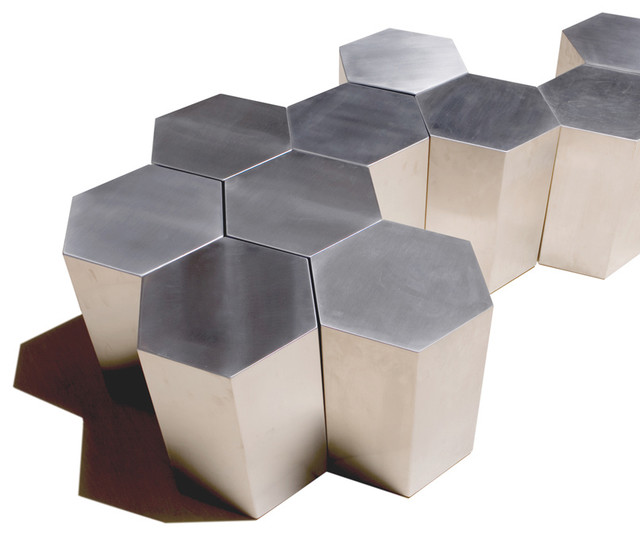 Lerival Hex Table modern-side-tables-and-end-tables