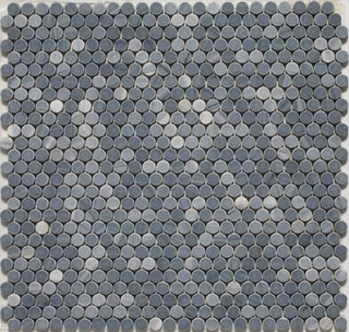 Penny Round Mosaic Tiles Eclectic Mosaic Tile By